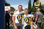 Martin und Michael Hempfer belegen in der Gesamtwertung Rang vier